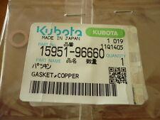 ANELLO GUARNIZIONE COPERCHIO VALVOLE KUBOTA kx41 Mini Escavatore 1595196660