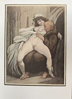 Georgian Era Satire Art London Erotik Sex Kloster Mönch Vagina Breast Nude Monk