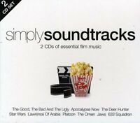 Simply Soundtracks - 2 CDs Of Essential Film Music 2CD NEW/SEALED