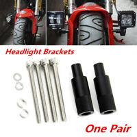 One Pair Aluminum Car Motorcycle ATV LED Headlight Expansion Mounting Bracket
