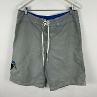 Billabong Mens Board Shorts 34 Grey Tie Closure