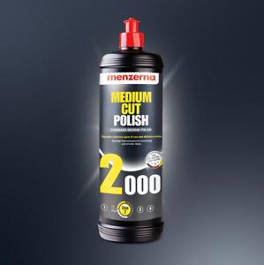 Menzerna 2000 Medium Cut Polish 250 ml produit de polissage pro Auto politur