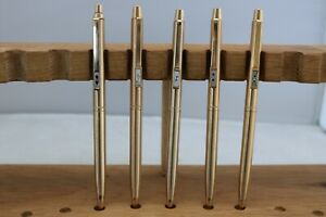 Vintage Paper Mate Profile 23k Electroplated Gold Mechanical Pencil, 6 Finishes