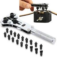 Watch Case Opener Adjustable Screw Back Remover Waterproof Wrench Repair Tool AU