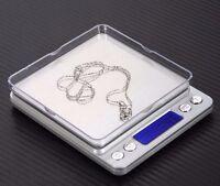 0.1gram Precision Jewelry Electronic Digital Balance Weight Pocket Scale 2000g