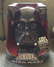 STAR WARS Darth Vader voice changer helmet 2004
