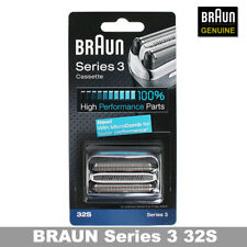 Braun 32S Series 3 Shaver Foil&Cutter Head Replacement Cassette_GENUINE