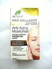 Dr. Organic Pro Collagen + Hyaluronic Acid Anti-Aging Moisturiser Milk Probiotic