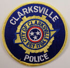 City Of Clarksville Police Uniform Patch #Pd-Yl