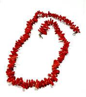 Bijou collier fermoir argenté corail ships necklace idéal pour cadeau