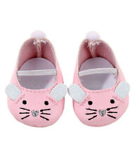 Gotz Hannah play doll Pink Mouse Ballerina Style Shoes 3402538 NEW