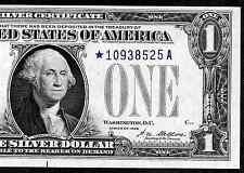 1928 $1 SILVER CERTIFICATE   ❀❀ STAR ❀❀  UNC    SUPER BRIGHT&CRISP!!!