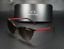 Armani Exchange AX4083S 803713 HAVANA BROWN GRADIENT 54 mm Women's Sunglasses