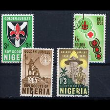 NIGERIA 1965 Scout. SG 157-160. Fine Used. (AM228)
