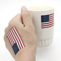 A Roll of 250 Pcs American Flag Stickers Labels Parade Patriotic Fresh Stickers