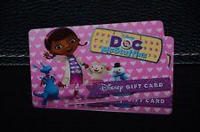 New 2016 Walt Disney World Doc McStuffins Disney Jr Gift Card No Cash Value