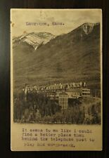 Early Byron Harmon & Dixon CPR #56 Banff Springs Hotel used Postcard
