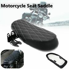 Motorcycle Cafe Racer Flat Seat Hump Saddle Cushion For Honda CB CG 125 Yamaha