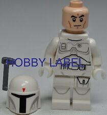 LEGO Star Wars Boba Fett Mini figure Helmet & Pack Prototype Armor Loose rare