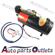 New 12V Truck Pickup On Board Air Horn Air Compressor With 3 Liter Tank 125psi