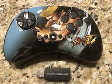 Mad Catz Street Fighter IV 4 Guile Fight Pad Wireless Playstation 3 PS3