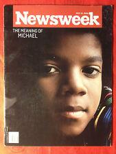 MICHAEL JACKSON - NEWSWEEK MAGAZINE magazin mag