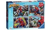 Marvel Spider-Man 4 x 100pc Puzzles Along With A Host Of Different Characters_UK