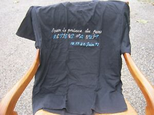 tee shirt johnny Hallyday de collection,