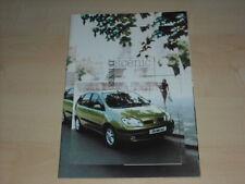 49205) Renault Megane Scenic Prospekt 08/1999