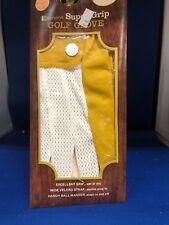 Edmont Super Grip golf glove.....new old stock- ..mens Lg. Left hand