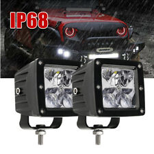 2x 3'' Pods LED Work Light Spotlight Lamp Bar for Car Truck Jeep SUV Offroad 4x4