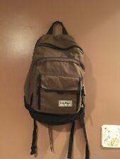 L L Bean Backpack Freeport Maine. Brown/black Large
