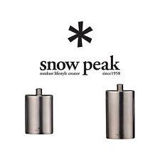 Snow Peak Titanium Hip Flask