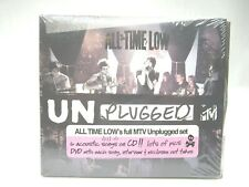 All Time Low MTV Unplugged 2 Discs 2010 CD Acoustic Songs DVD Interview Pics NEW