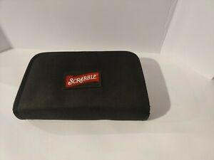 Scrabble On The Go Foldable 2001 Edition Looks brand new missing 1 holder