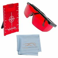 AdirPro Laser Enhancement Kit Red Laser Protection Glasses - Red Magnetic Target