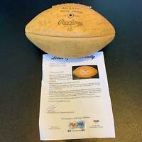 1966 Missouri Tigers Team Signed Football 46 Sigs Roger Wehrli With PSA DNA COA