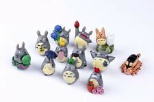 My Neighbor Totoro Mini Cake Topper Figure Figurines Toy Set of 12pcs G1 Cute
