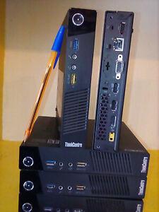 lenovo tiny M73 G1840T 2.5ghz 4go 120go SSD ou 320go méca au choix wifi Win10pro