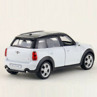 1:36 Mini Cooper S Countryman Model Car Diecast VehicleToy Gift Collection White