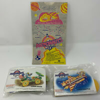 Vintage 1991 McDonalds Young Astronauts Happy Meal 1 Bag 2 Unopened Toys 1990s