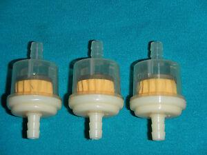 FUEL GAS FILTER PETROL FILTER MAGNET 1/4 #3 Yamaha 50 70 80 100 250 350 450 500