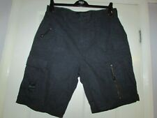 gents navy blue cotton shorts from Next size 36W