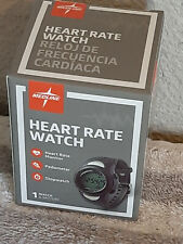 Medline Heart Rate Monitor Watch Pedometer Stopwatch Activity Tracker Brand New