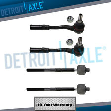 Both (2) Front Inner & Outer Tie Rod Ends for Mercedes Benz CL S SL Class