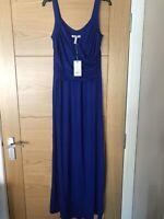 Bravissimo Pepperberry Cobalt Blue Maxi Dress Occasion Size 12 Curvy/Really Curv