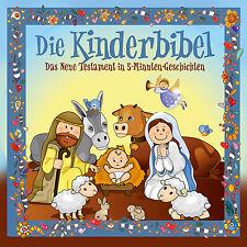 CD Kinderbibel Neues Testament in 5 Minuten Geschichten   Hörbuch CD