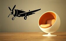 Wall Sticker Vinyl Decal Nursery Kids Aviation Airplane for Children ig1210
