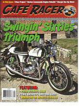 CAFE RACER,   DECEMBER / JANUARY, 2014  ISSUE, 30  ( SWINGIN'SIXTIES TRIUMPH )