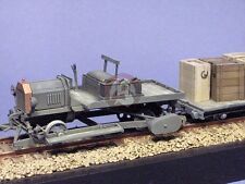 """Resicast 1/35 British Ford Model T """"Draisine"""" 1916 WWI (w/3 Wagons+Boxes) 351154"""